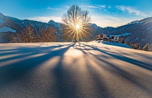 Winterlandschaft - Archiv TVB Mayrhofen©Becknaphoto