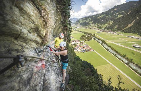 Klettersteig - Archiv TVB Mayrhofen©Dominik Ebenbichler